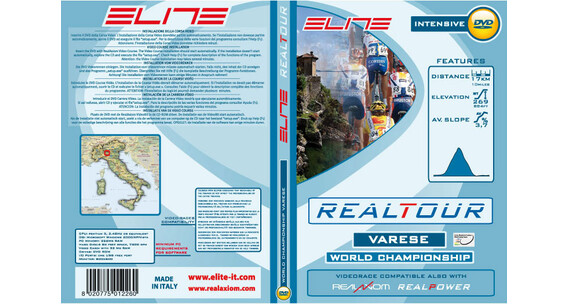 Elite DVD Varese 2008 Wordchampionships Real Axiom/Power/Tour zielony/biały
